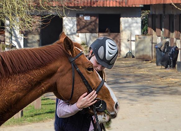 Vacances et cheval…